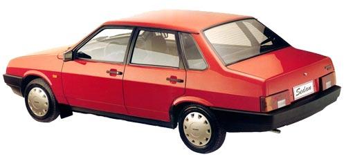 Модель ВАЗ-21099 - фото