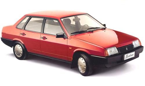 Модель ВАЗ-21099 фотография
