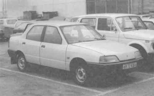 Образец серии 100 на испытаниях (1987 г.).
